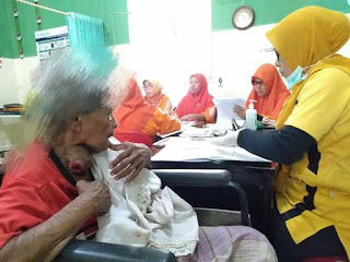 Nenek penderita tumor membutuhkan uluran tangan para dermawan, Aceh Utara