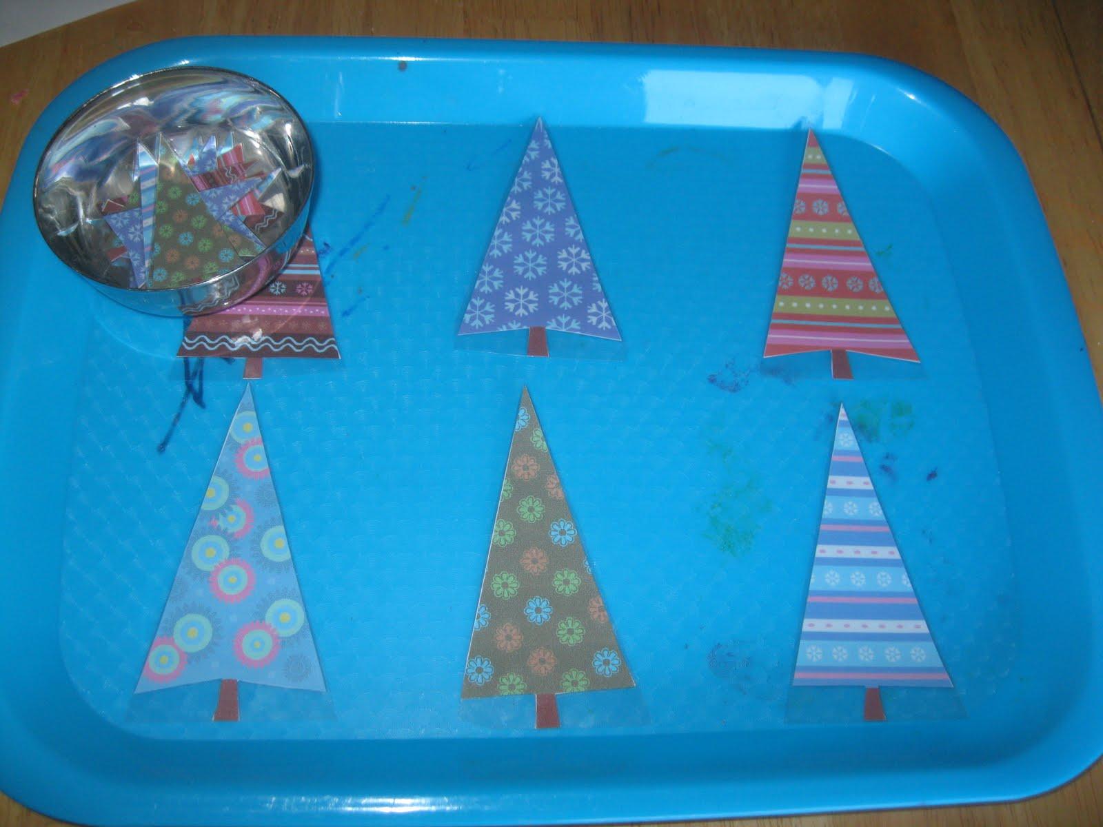 The Preschool Experiment Christmas Tot Trays