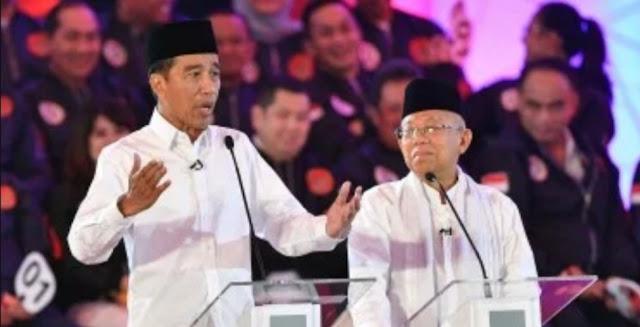 Kiai Ma'ruf Yakin Jokowi 'Kuasai Panggung' Saat Debat Pilpres Tahap II