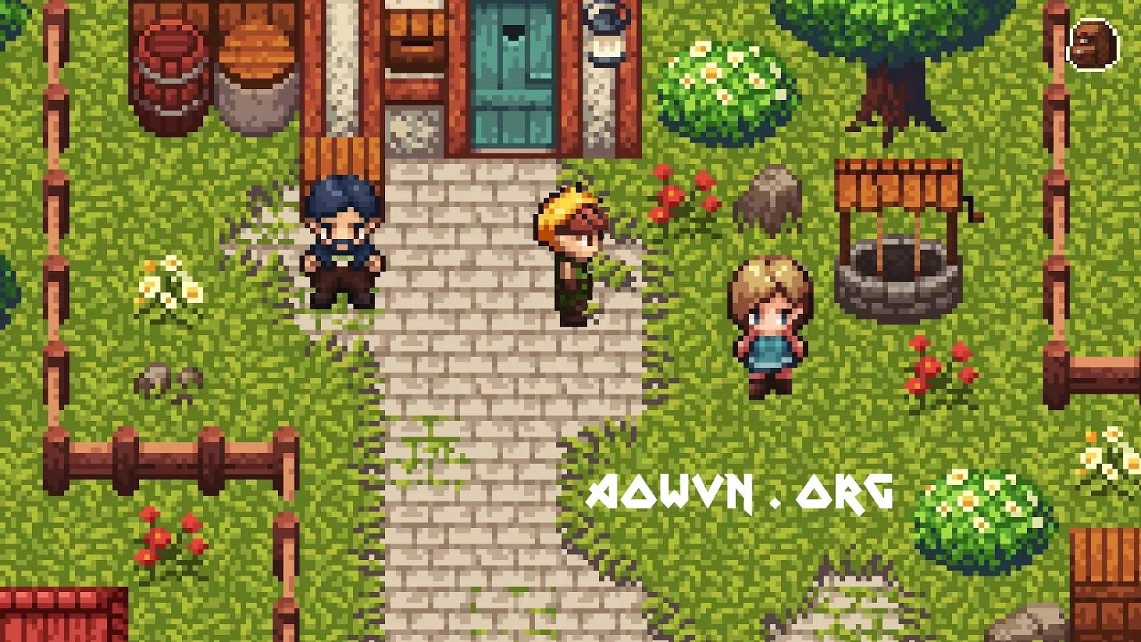 evoland aowvn%2B%25283%2529 - [ PC ] Evoland 1 & 2 | Gói Gọn Lịch Sử Game RPG Trong Một Game