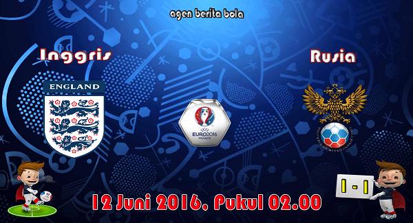 prediksi bola inggris vs rusia euro 2016