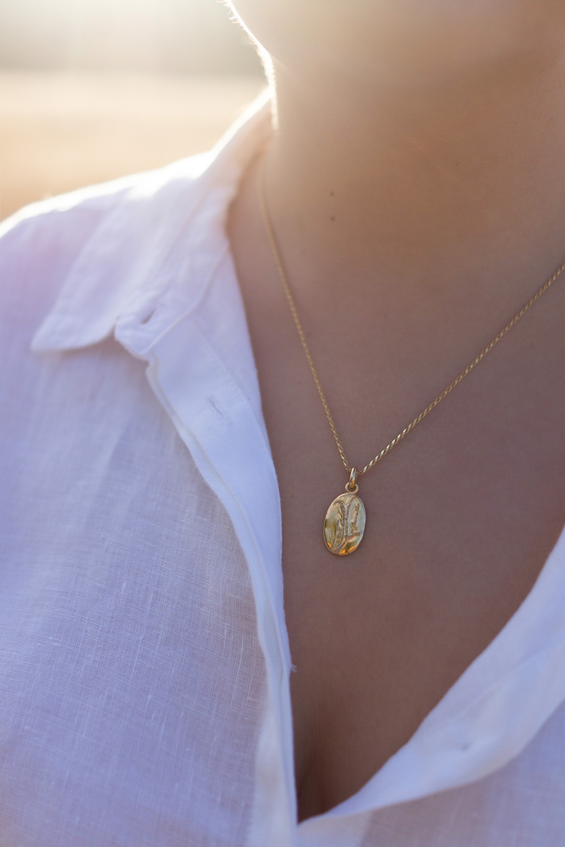 Daisy-London-lavender-gold-necklace-review