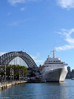 bridge and ship