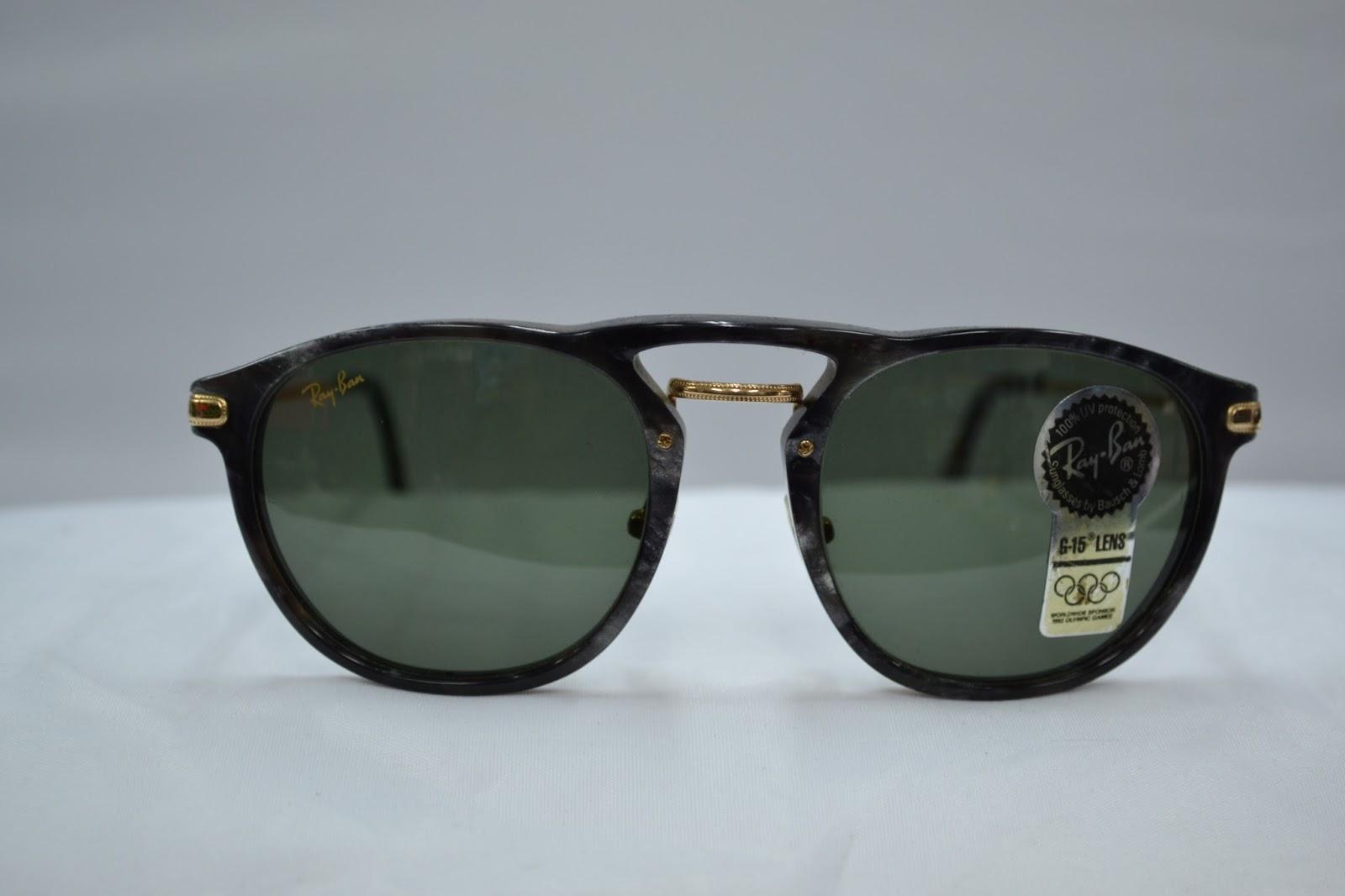 0b6e6b59833 Vintage sunglass  Vintage Ray Ban Premier Combo W1368