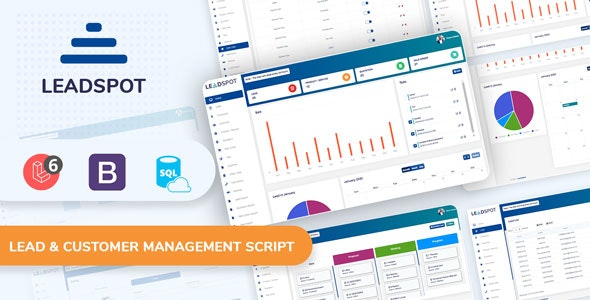 Lead Spot v3.0 - Lead & Customer Management Script Download