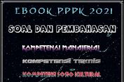 Ebook Soal PPPK 2021 (Kompetensi Teknis, Manajerial, Sosio Kultural, Wawancara)