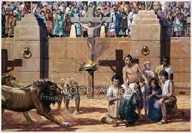 HISTÓRIA DOS MÁRTIRES CRISTÃOS ATÉ NERO