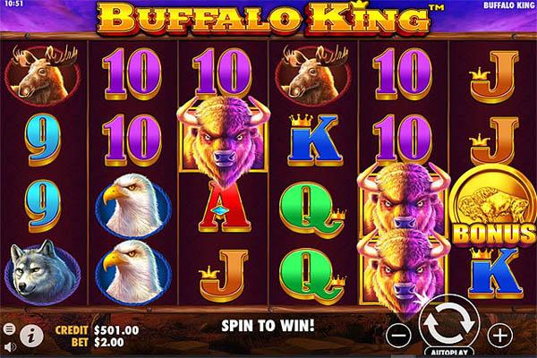 Main Gratis Slot Indonesia - Buffalo King (Pragmatic Play)
