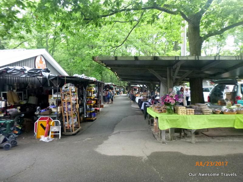 Grand bend flea market hours