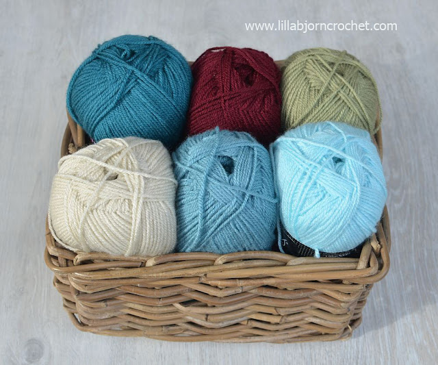 Acrylic yarn Colour Crafter by Scheepjes - review by Lilla Bjorn Crochet