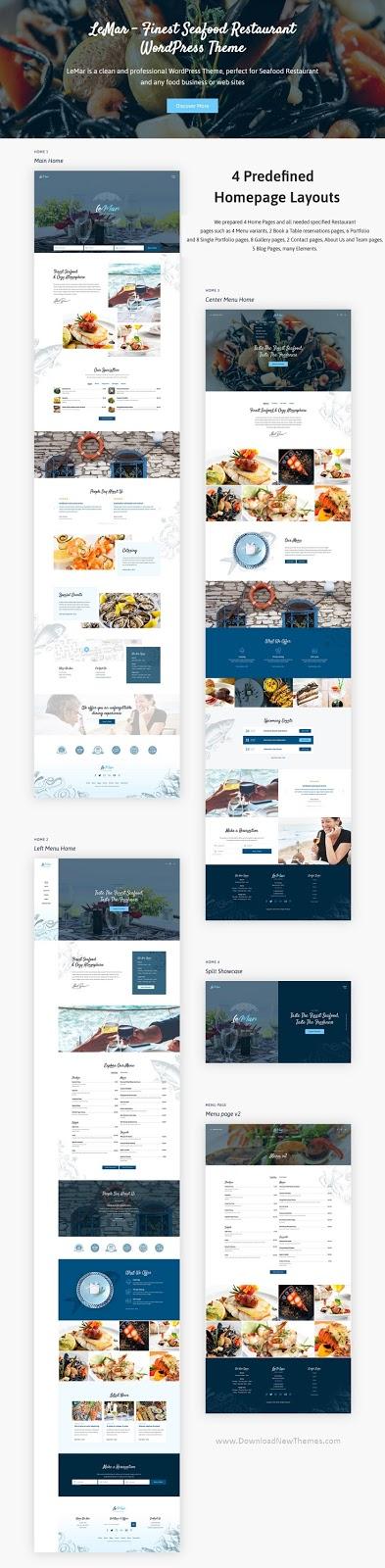 Bet Restaurant WordPress Theme