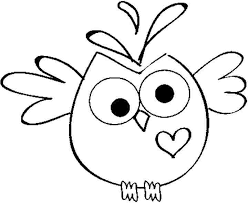 Christmas owl coloring page 10