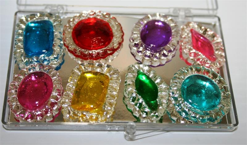 How To Make Candy Jewels For Cakes