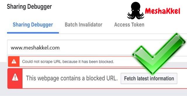 Facebook blocked my website url . How to unblock my url
