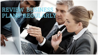 Review business plans regularly
