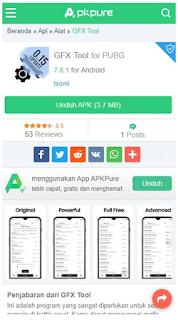 GFX Tool PUBG, Download GFX Tool PUBG Mobile dan Cara Menggunakan GFX tool pubg mobile