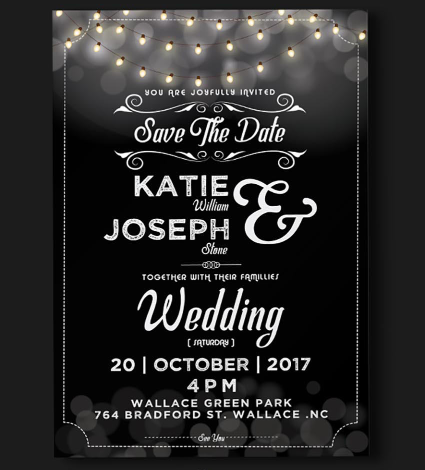 Wedding Invitation – Light