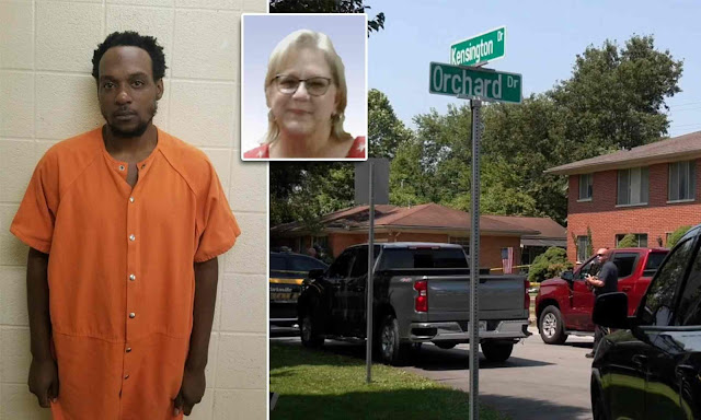 Man is charged with murder of woman who was found DECAPITATED in her apartment