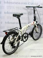 C 20 Inch Fold-X Hokaido 7005 Alumunium Alloy Frame Folding Bike