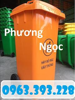 Thùng rác nhựa HDPE 120L, thùng rác công cộng, thùng rác 2 bánh xe 2231ef21921b81ad6ed39eff68d56865