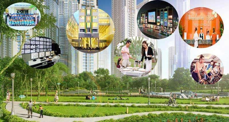 Tiện ích sống Vincity New Saigon Quận 9