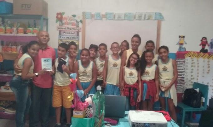 Palestra sobre Brasil Pré-Colonial e Colônia na Escola Recanto do Saber