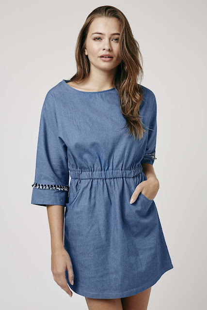 goldie denim dress,
