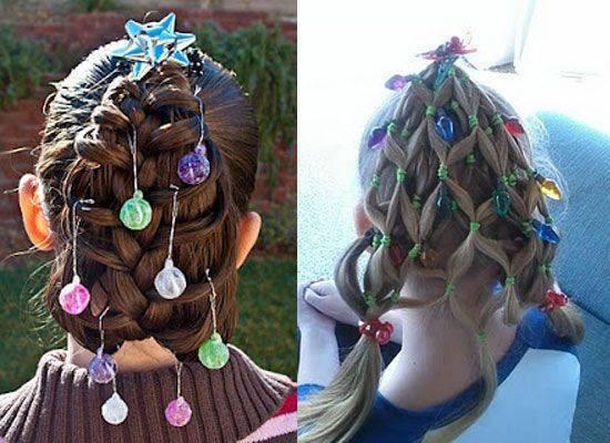 Penteados inspirados no Natal