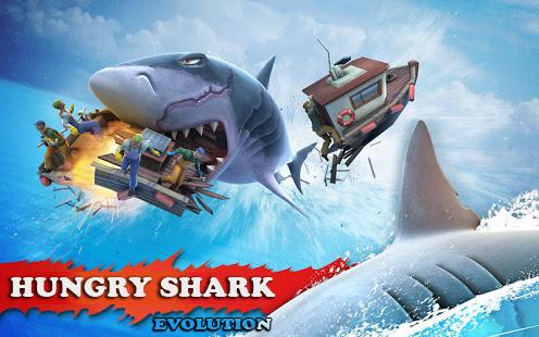Hungry Shark Evolution MOD APK [Mega Mod] V4.6.0 Free Android