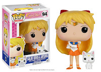 Funko Pop! Sailor Venus with Artemis