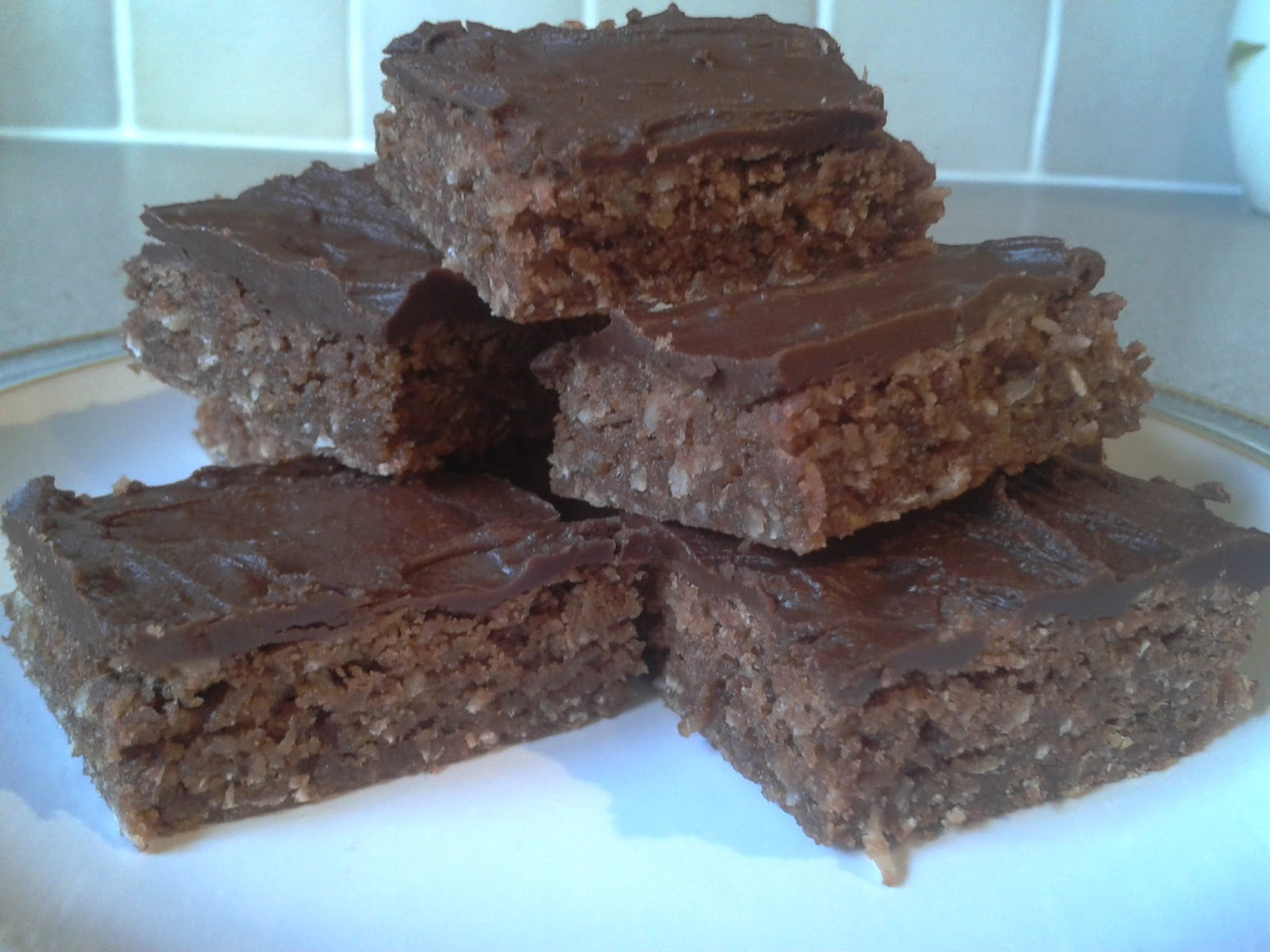 Claire's Chocolate Heaven: Chocolate Weetabix Traybake