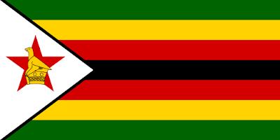 Bandera de Zimbabwe