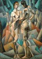 Cubismo Analítico - 'Deux Nus' de Metzinger