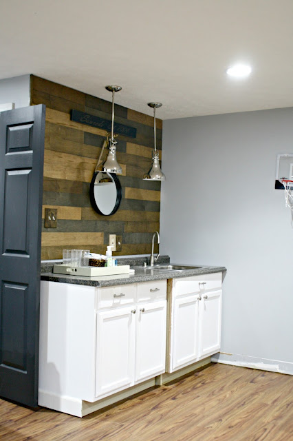 kitchenette ideas for basement