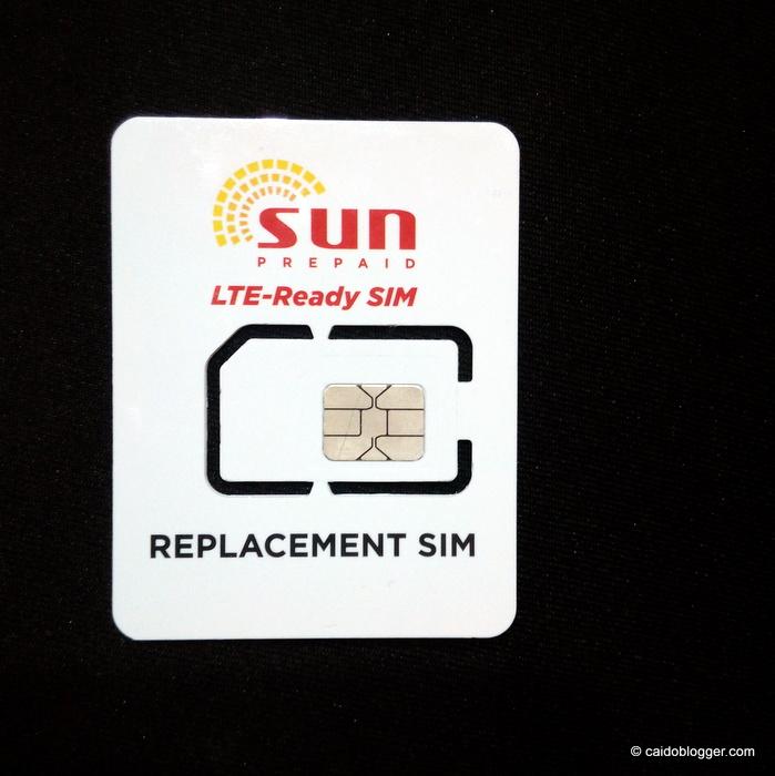 Sun Prepaid LTE-Ready Sim