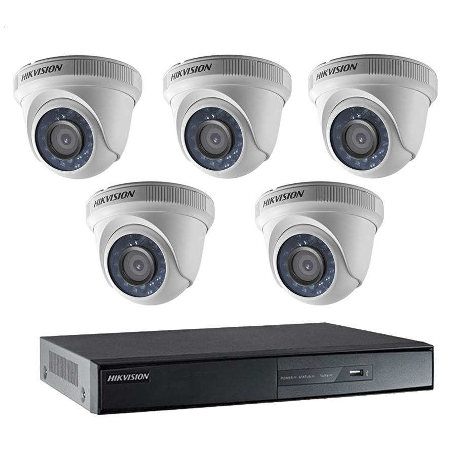 Bộ 5 Camera HD + Đầu ghi hình 8 kênh giá rẻ