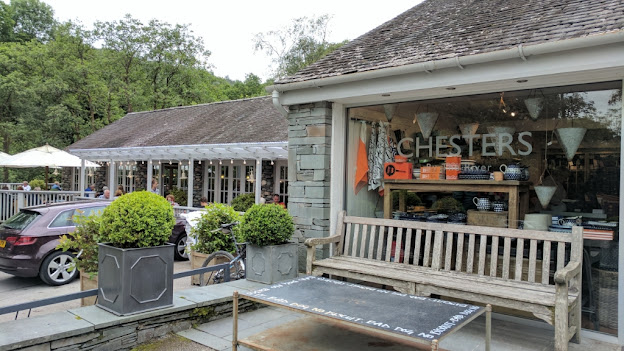 Chesters Skelwith Bridge cafe food shop Ambleside