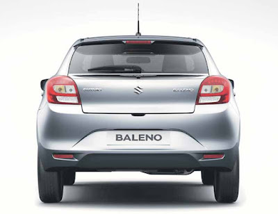 New 2016 Maruti Suzuki Baleno rear view