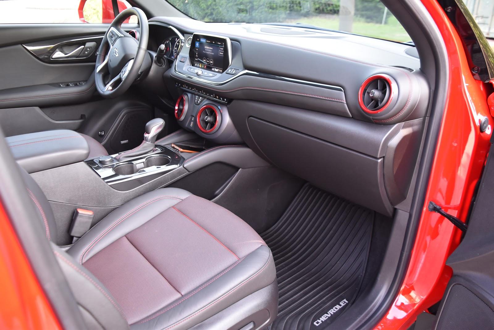 2019 Chevy Blazer Interior Seating