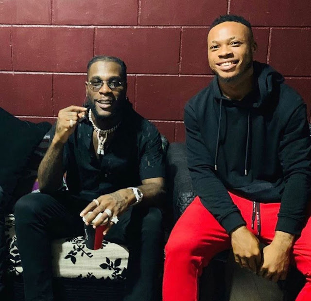 Burna Boy battles super-talented Zanku dancer Poco Lee on stage (video)