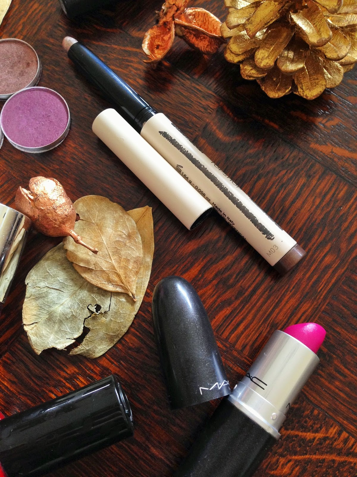 Autumn Make-up - Transitional Colours MAC, Topshop