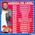 Agenda de Shows Abril 2017 - Tirullipa