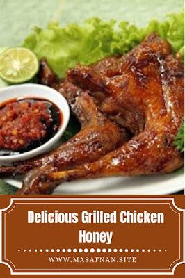 Delicious Grilled Chicken Honey