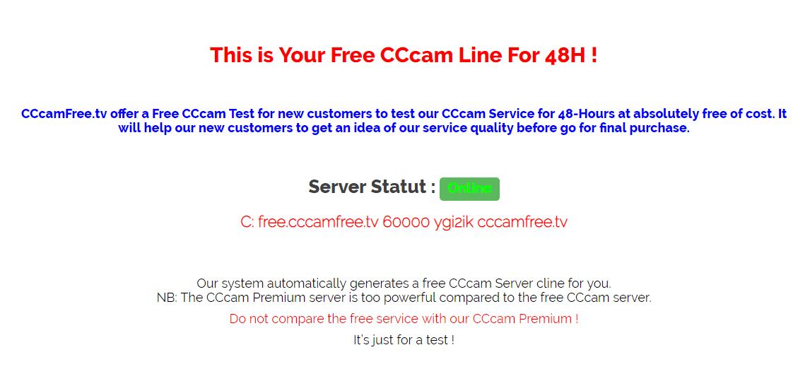 افضل موقع للحصول على سرفر سيسكام cccam مجانا 2019 - مدونة شروحات