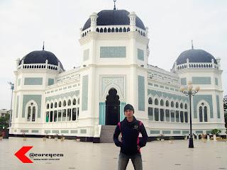 Cecen Core - Masjid Raya Al-Mashun Kota Medan