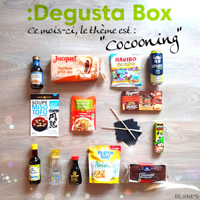 "Unboxing DegustaBox ""Cocooning"""