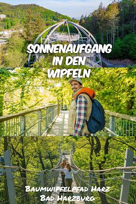 Sonnenaufgang am Baumwipfelpfad-Harz | Wandern in Bad Harzburg Sonnenaufgangswanderung Bad –Harzburg 20