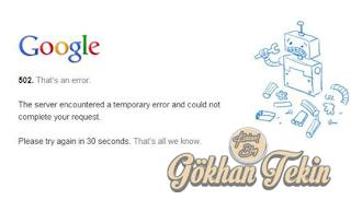 Google Kısa Sürelide Olsa Blog Yazarlarını Korkuttu