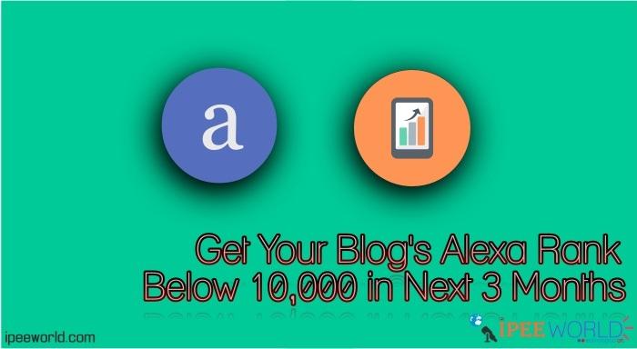 Get Your Blog's Alexa Ranking Below 10,000 In Next 1 Month