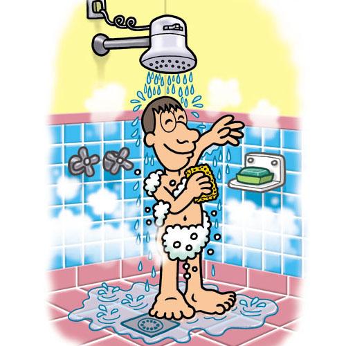 En el banho durante una fiesta en casa de los amigos - 1 2